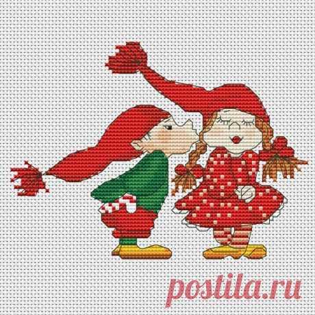 Gallery.ru / Гномео и Джульета - Мои схемы(разные) - Norsvet