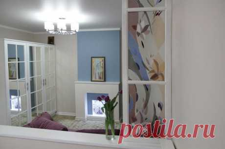 How to equip a bedroom and a drawing room in an odnushka. Voronezh