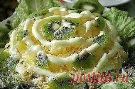 10 нежнейших  салатов с грибами