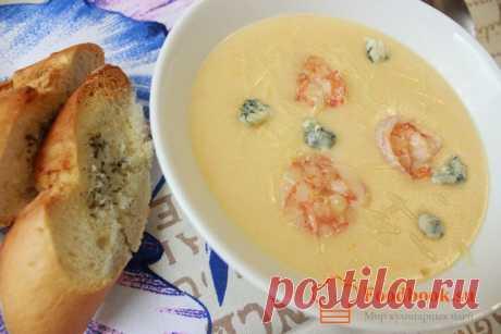 Крем-суп с креветками | Foodbook.su Сырный крем-суп, это очень сытное блюдо, невероятный вкус доставит еще и гастрономическое удовольствие. Рецепт этого супа сможет приготовить любой кто хоть раз что либо готовил. И так приступим и по