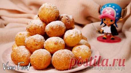 Творожные шарики (пончики) Рецепт вкуснейших творожных пончиков. Нежные и мягкие внутри, но хрустящие снаружи. Вкусно так, что почти невозможно оторваться!:)Ингредиенты: творог - 400 г;мука - 200 г;яйцо - 2 шт;сахар - 3 ст.л.;с...