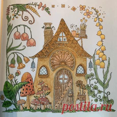 Maryluna57 - 13-07-2020 Johanna Basford Coloring Gallery Взгляните на это великолепное произведение искусства в галерее красок Джоанны Басфорд!