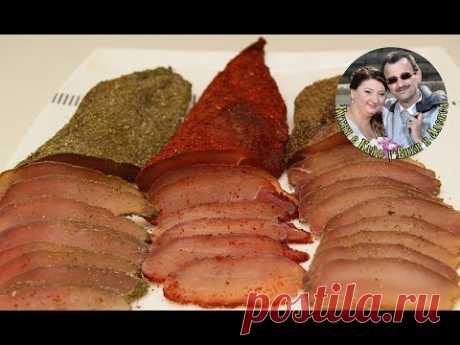 Лакс (lax) или Бастурма из Куриной Грудки. Вяленое Мясо. Балык. Не реально вкусно.