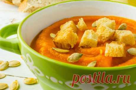 2 вкусных рецепта супов с гренками от Шефмаркет