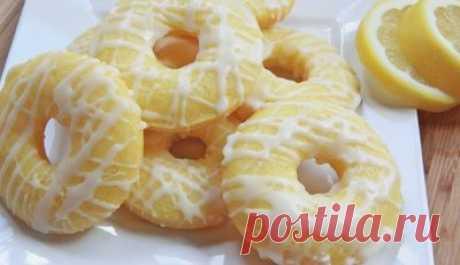Лимонные пончики в духовке - Узнал сам расскажи другому все самое интересное - медиаплатформа МирТесен