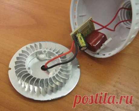 Ремонт светодиодных ламп - замена светодиода в неисправной лампе