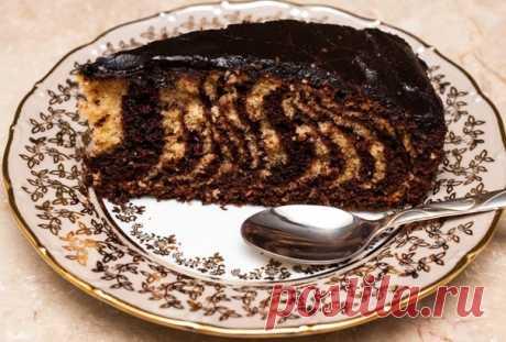 Торт Зебра в домашних условиях: 6 классических рецептов Привет всем! Простой, но оригинальный торт «Зебра» способен стать настоящим украшением любого праздничного стола. Несмотря на незатейливость ингредиентов и способа