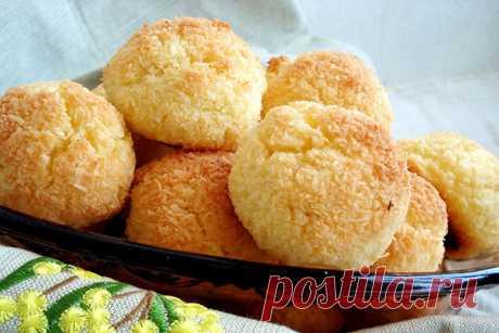 Кокосовое печенье без муки — Женская страничка
