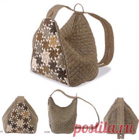 ВЫКРОЙКА СУМКИ Hobo bag ( сумка-бродяга)