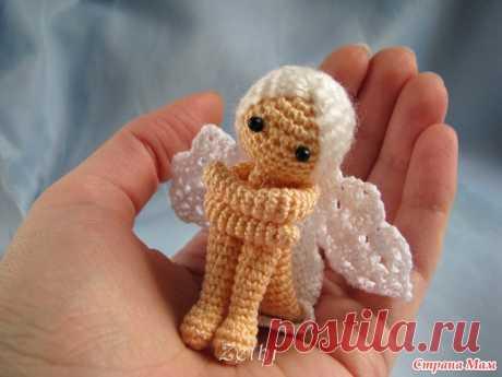 Ангел на ладошке