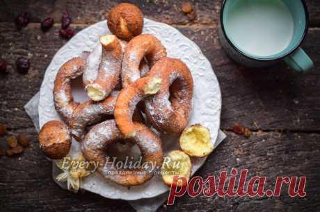 Пончики на кефире за 15 минут, вкуснятина из детства, рецепт с фото пошагово
