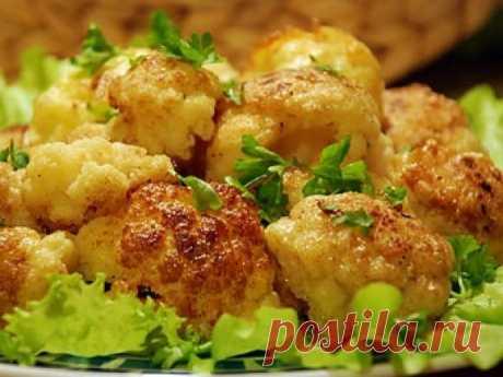Благодаря этому рецепту запеченной цветной капусты ты станешь королем кухни!