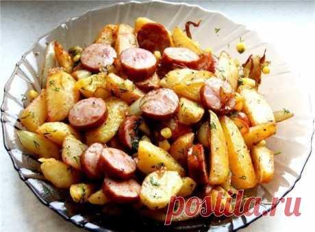Как приготовить картофель по-деревенски. - рецепт, ингредиенты и фотографии