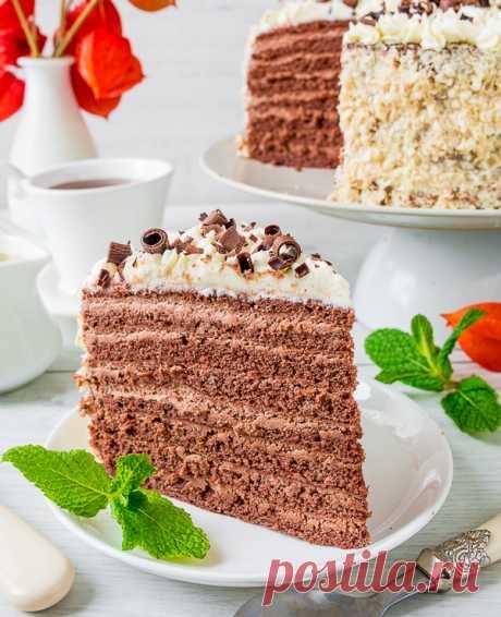 """Торт """"Шоколадная девочка"""" на Вкусном Блоге"""