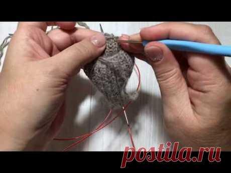 Вязание детских рукавичек пальчик клин