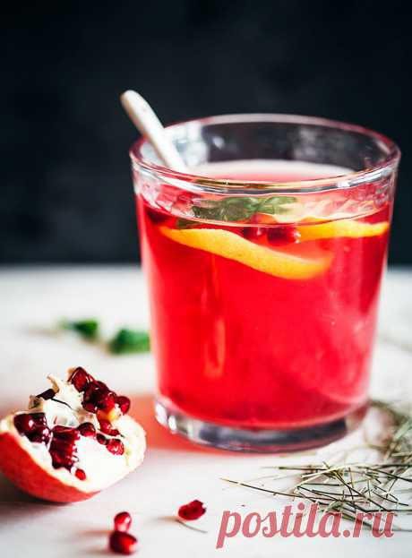 Целебный напиток из хвоща и граната | Вкусные рецепты