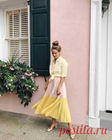 Модные образы для вдохновения на июль