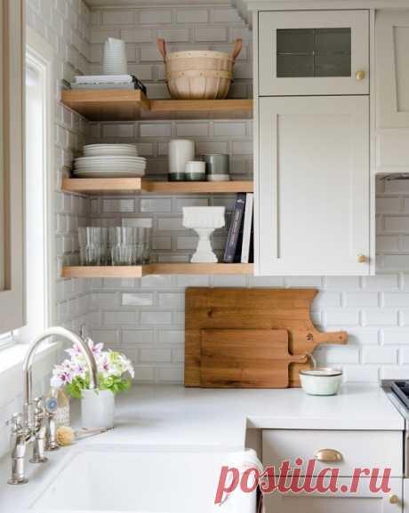 12 идей, как заставить узкую кухню казаться больше, чем она есть на самом деле