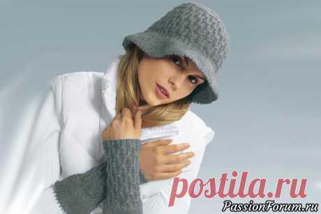 Шляпа и митенки. Готовимся к весне - запись пользователя ШАПОкляк (Сима) в сообществе Вязание спицами в категории Вязание спицами аксессуаров Шапка, конечно дело хорошее, но такая вещь, как шляпа должна  присутствовать в гардеробе каждой настоящей женщины! Ведь именно изящная  шляпа придаст Вашему образу утонченность и элегантность.
