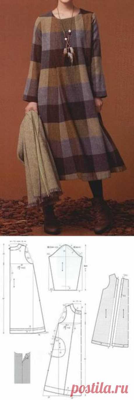 Фантастическая подборка теплых платьев в клетку. – В РИТМЕ ЖИЗНИ