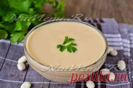 Фасолевый соус (как майонез)