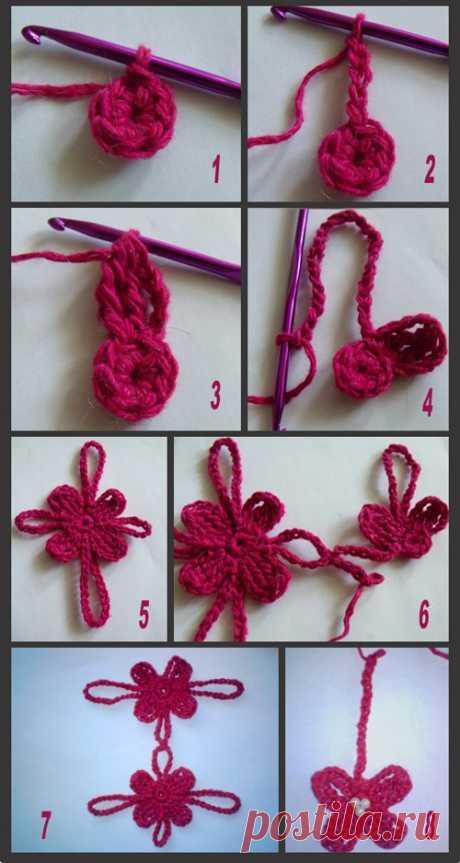 Такой шарфик можно связать за 1 день (Вязание крючком) — Журнал Вдохновение Рукодельницы