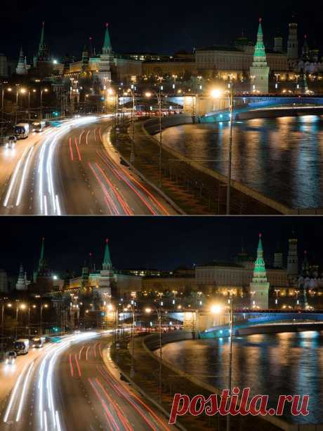 night_in_city: Московский Кремль