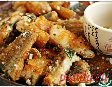 Рыба в чесночно-сливочном соусе: предупреждаю - готовится быстро, а съедается почти мгновенно