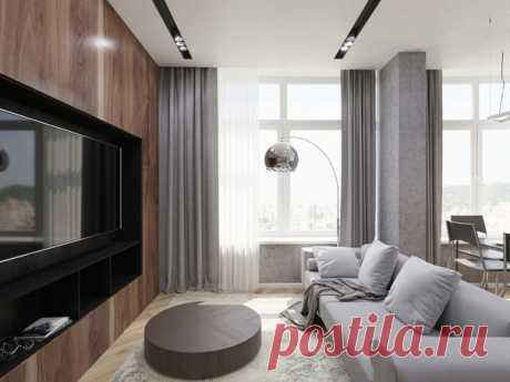 Дизайн квартиры площадью 103 кв.м от А-студио