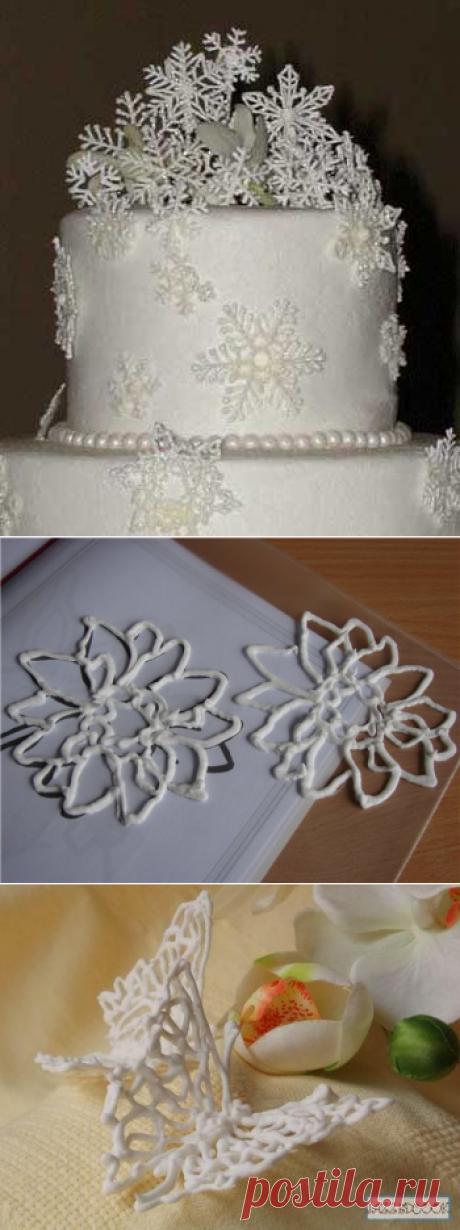 Айсинг и всё о нем- украшаем новогодние торты