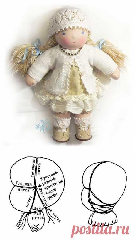 Пример создание вальдорфской куклы / Вальдорфская кукла / PassionForum - мастер-классы по рукоделию