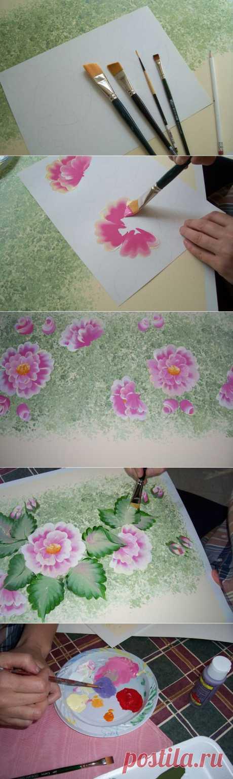 Decorative rospis-Krasivye flowers!!!!.