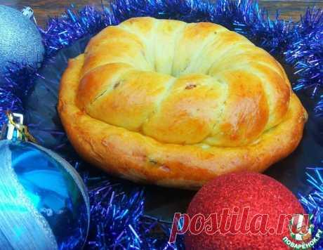 Рождественский калач – кулинарный рецепт