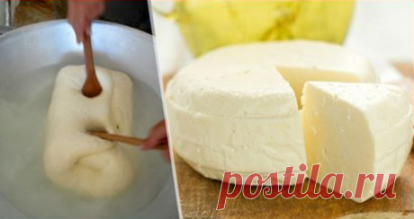 Сулугуни домашнего приготовления. Сыр получается очень нежным и готовить его сплошное удовольствие.   Ингредиенты:  1 л. молока 200 мл. сметаны 3 яйца 1 ст. л. соли  Приготовление:  Молоко закипятить и добавить соль. Сметану смешать с…