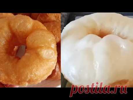 НИКТО НЕ ВЕРИТ, что я готовлю их так просто! Мука+вода смешал, Пончики готовы!