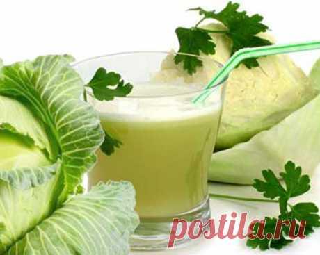 Капустный сок «чистящее» средство для кишечника. — Красота и здоровье
