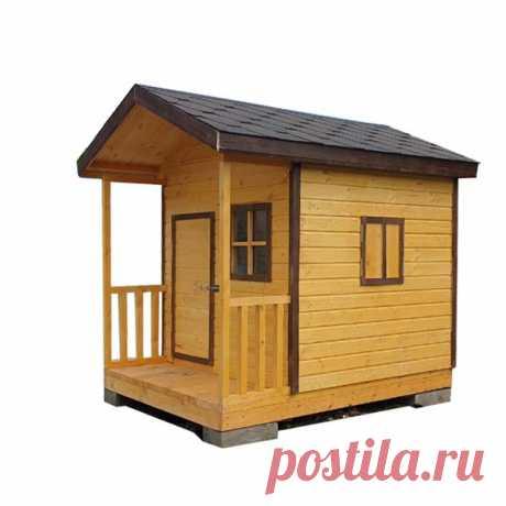 Мы обновили детский игровой домик.  В этом сезоне эта модель пользуется особым спросом у родителей, которые проводят лето на даче.