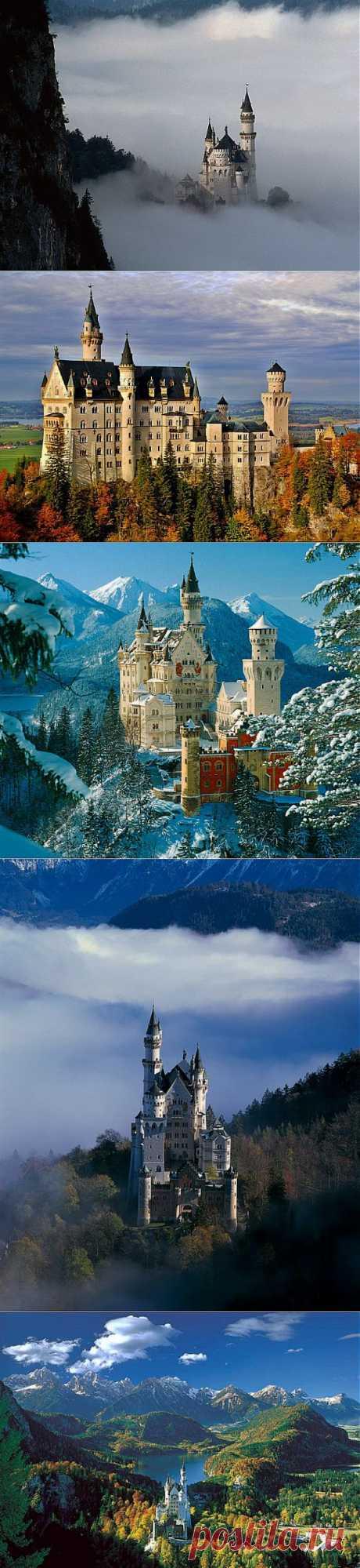 Самый ошеломительно красивый замок в мире