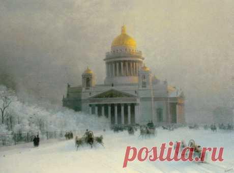 Петербург Айвазовского — 14 картин с изображением Петербурга и его пригородов | Санкт-Петербург Центр