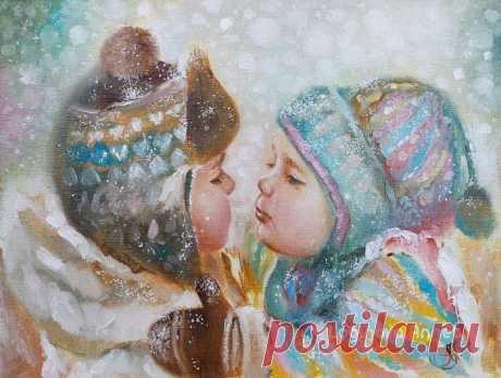 Светлые картины Аннет Логиновой.