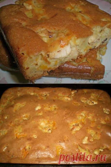 Чудо, как хорош заливной пирог из теста на сметане – нежный, мягкий, вкусный | Кастрюлька | Яндекс Дзен
