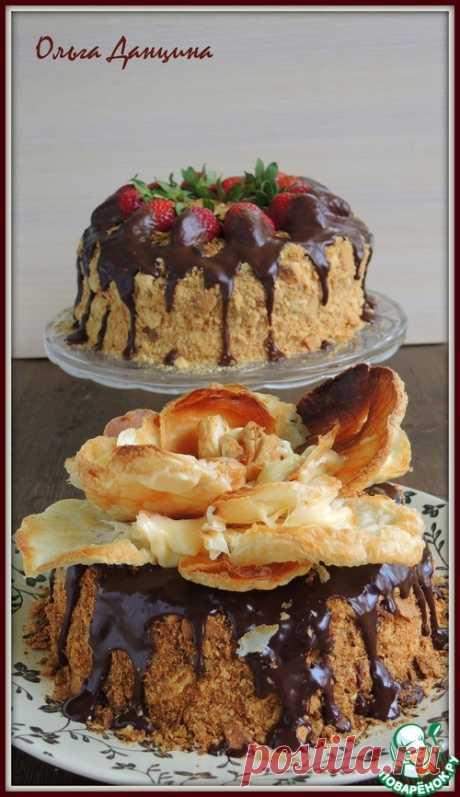 """Торт """"Наполеон"""" по-одесски – кулинарный рецепт"""