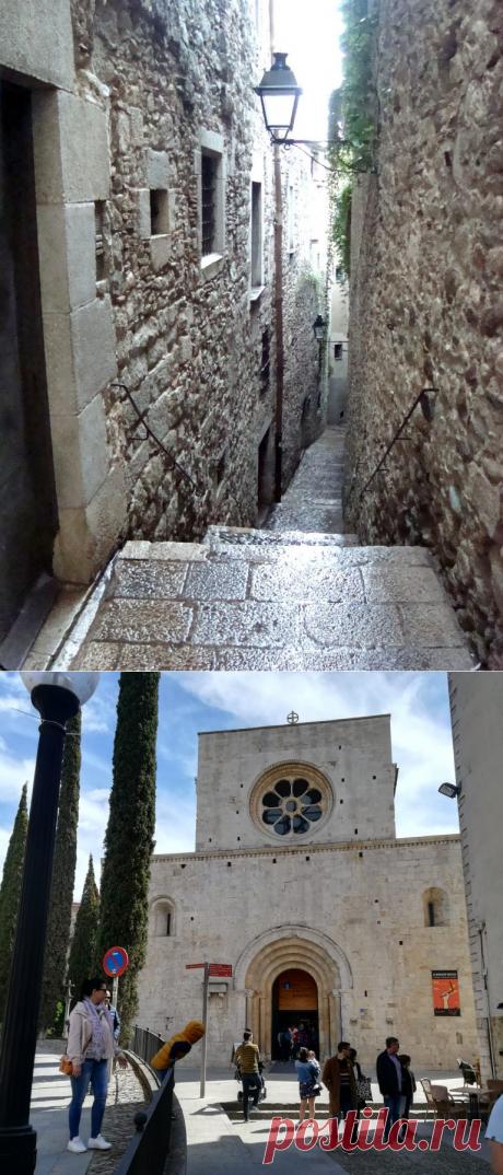 Экскурсия в Жироне от набережной реки Оньяр в старый город - Легенды Жироны | Туризм в Испании
