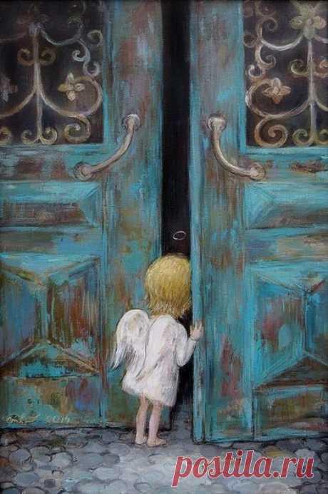 Приходящие к вам случайно, дверью не ошибаются.