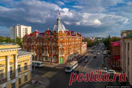 Томск — сибирский город студентов