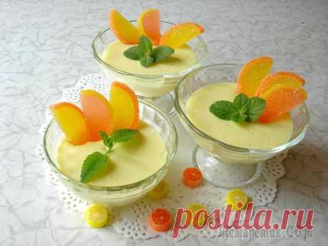 Ленивый лимонный поссет. Сладкоежки останутся довольны! Лимонный поссет – это отличный вариант летнего освежающего десерта. Я предлагаю совсем ленивый способ его приготовления. Этот десерт просто находка для сладкоежек, сладко, нежно, вкусно и очень быстро...