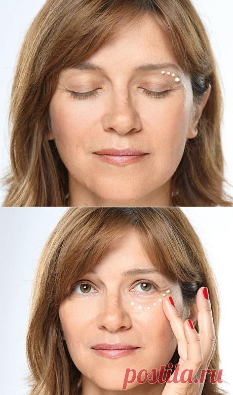 Простые правила ухода за кожей вокруг глаз – Lisa.ru