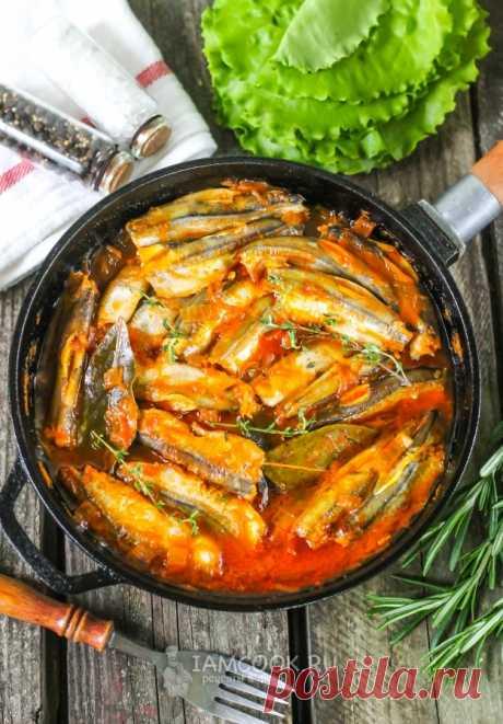 Мойва в томатном соусе в домашних условиях — рецепт с фото пошагово