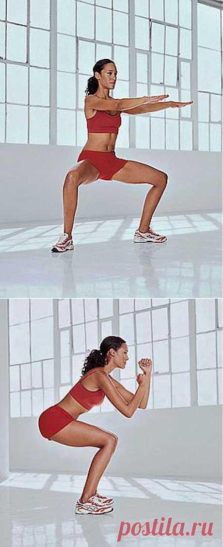 (+1) тема - 5 упражнений для бразильской попки | КРАСОТА И ЗДОРОВЬЕ