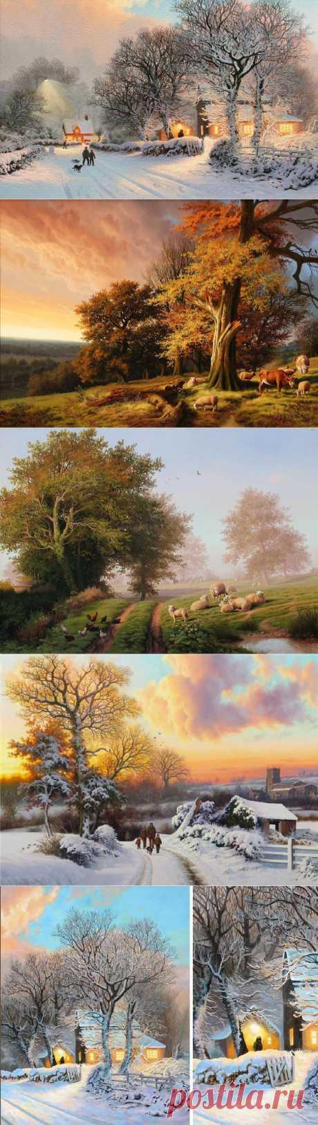 Творчество художника Daniel van der Putten.